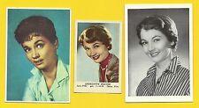 Liselotte Pulver Fab Card LOT E German Actress Sesame Street A Global Affair