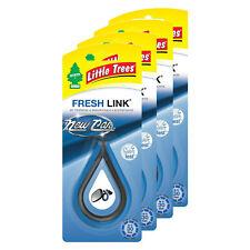 Little Trees Fresh Link Air Freshener, 4-PACK (New Car)