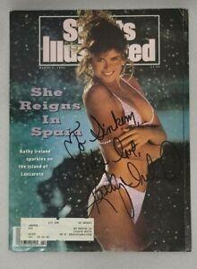 Kathy Ireland Signed Autographed SI Sports Illustrated 3-19-1992 JSA 0519