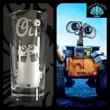 Disney WALL-E Highball Juice Glass Personalised FREE Name Engraved Gift Robot