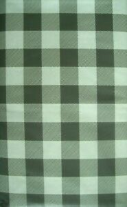 VARIOUS SIZES / COLORS-CHECKED-VINYL / FLANNEL BACKED-TABLECLOTHS-BY ELRENE