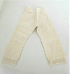 Antique Cotton Pantaloons Bloomers Underpants for a Medium Size Doll