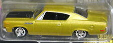 JOHNNY LIGHTNING 70 1970 AMERICAN MOTORS AMC REBEL MACHINE MUSCLE CAR USA GOLD