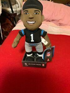 "NWT NFL Football Cam Newton # 1 Carolina Panthers Plush Figure 11"""