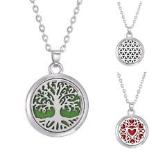 Aromatherapie Ätherisches Öl Diffusor Halskette Anhänger Yoga Meditation Edelstein Geschenk
