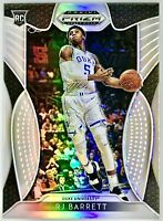 2019-20 Panini Prizm RJ Barrett Silver Prizms Rookie Card Rc New York Knicks🔥📈
