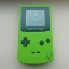 Nintendo Game Boy Colour Kiwi / Lime Green Handheld Fully working and tested