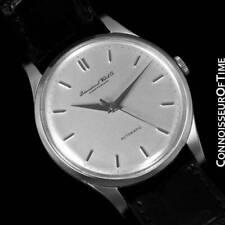 1952 Iwc Vintage da Uomo Dimensione Standard Cal. 852 Orologio in Acciaio Inox -