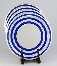 RARE! Set of 2 Dinner Plates, SUPERB! Cabana, Marine Blue, Everyday Collection