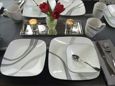 CORELLE Square Urban Arc Dinnerware 1 DINNER PLATE ONLY - 7 Available NEW
