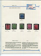 AMG-FTT TRIESTE FISCAL OVER PRINTED STAMPS!