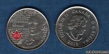 Canada Guerre de 1812 - 25 Cents 2012 Isaac Brock Couleur