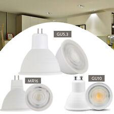 Dimmable LED COB Spotlight Bulbs 7W GU10 MR16 GU5.3 White 110V 220V Lamp RD469