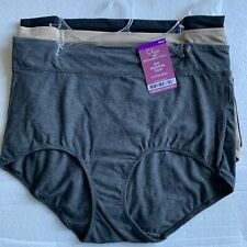 b65be88c198d Warner's Olga Cotton Stretch Briefs Panties S/5 M/6 L/7 XL