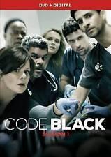 Code Black: Season One 1 (DVD, 2016, 5-Disc Set)