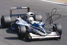 Martin López firmado F1 Brabham-Yamaha BT60Y 1991 temporada de Grand Prix