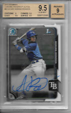 2015 Bowman Chrome ADRIAN RONDON AUTO AUTOGRAPH RC BGS 9.5 GEM MINT TAMPA BAY!
