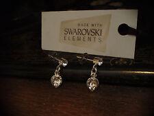 Crystal Cuore Goccia Orecchini realizzati con elementi swarovski