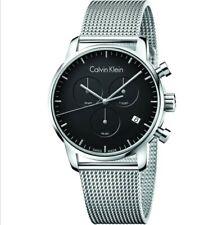 Calvin Klein watch K2G27121 Silver Cronogragh Brand New