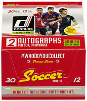 2018-19 Donruss Soccer FULL Set 1-200 Sancho Davies Foden Havertz Mckennie RCs