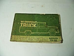 1966 Chevrolet Truck Owner's Guide ~ Series 10-30