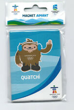 "CANADA 2010 VANCOUVER OLYMPIC WINTER GAMES "" QUATCHI "" FRIDGE MAGNET BRAND NEW"