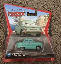Disney Pixar Cars 2 Diecast Petrov Trunkov NEW