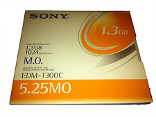 "Sony mo edm-1300c 1.3gb 5.25"" mo Disk Optical Rewriteable #10"