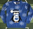 Kids Portsmouth Fc Christmas Winter Jumper Size 9-10 Years Football Shirt