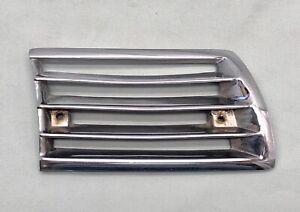 Original Porsche 911 & 912 LWB Horn Grill Metal Chrome Right Side