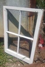 ANTIQUE WOOD WINDOW PICTURE FRAME PINTEREST 4 FOUR PANE 28X20 RUSTIC