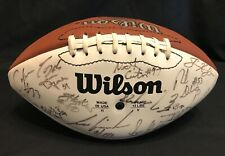 1995 TORONTO ARGONAUTS TEAM SIGNED FOOTBALL 41 Autographs Pinball CFL ARGOS