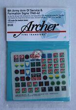 Archer 1/35 British 8th Army AOS & Formation Signs 1940-1942 #5 (7mm) AR35071.7