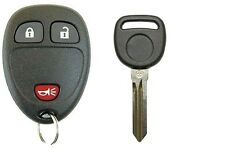 New Replacement Keyless Entry Remote Fob For GM 3 Button OEM Electronics + Key