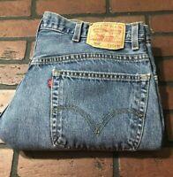 Levi's 505 Straight Leg Regular Fit Jeans Men's Size 40 x 32