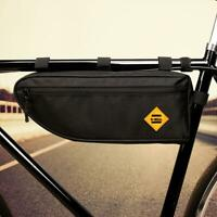 B SOUL Bicycle Triangle Bag Bike Frame Front Tube Bag Waterproof Pannier Pouch
