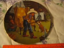 Children's Hour Series 2nd Ed Cowboy Capers Decorative Collector plate L00k