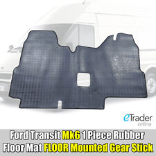 Heavy-Duty Rubber Floor Mat for Ford Transit MK6 00 - 06 Tailored Fit Mats