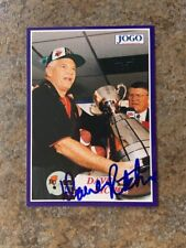signed in person DAVE RITCHIE CFL B.C. LIONS JOGO # 27 1995