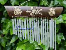 s- Feng -Shui -Klangspiel-Windspiel-Klangharfe-Bambusschild -Aluröhren --
