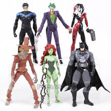 DC UNIVERSE - NIGHTWING, SCARECROW, POISON IVY AND MÁS / 6 FIGURES SET