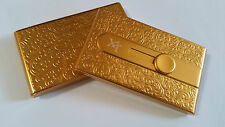 Gold Automatic Business Card Holder