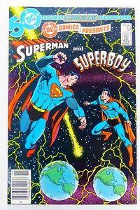 DC COMICS PRESENTS (1985) #87 1st SUPERBOY PRIME App NEWSSTAND VF Ships FREE!