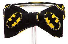 "Bow Tie ""BATMAN"" Themed - Handmade by Remarkable Bowties - Item# Rem-SH-BM-1118"
