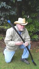 "Archery Traditional Survival Bow, The Comet"" 58in  45lb+ Recurve Bow, Right H."