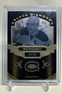 2016-17 Upper Deck Black Diamond Pure Black Max Pacioretty 20 /99, BDB-MP