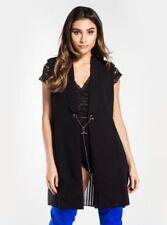Manteaux et vestes blazer noir en polyester pour femme