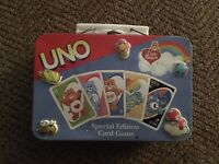 Uno Special Edition Care Bears Uno Game Collector Tin 2003 (Tin Only)