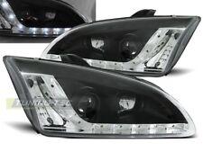 LED HEADLIGHTS LPFO19 FORD FOCUS MK-2 2004 2005 2006 2007 2008 BLACK