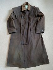 38 Barbour Backhouse Waxed Stockman Coat Riding Jacket Equestrian Horse Country